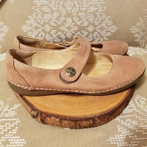 Sweet Mary Jane Leather Shoes